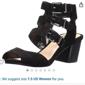 super cute VINCE CAMUTO heeled sandals!